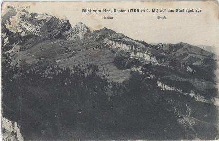 Hoher Kasten Postkarte Herkunft unbekannt _RU
