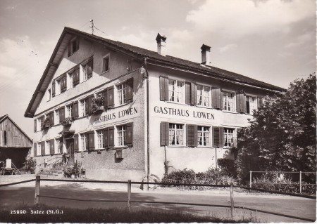 Salez Foto Gross, St. Gallen, Nr. 25990, 1949 _RU