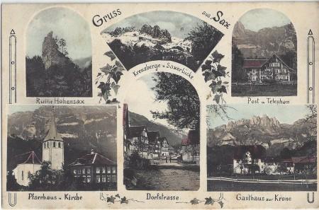 Sax FotoJac. Ittensohn, St. Margrethen, Dess. 143 _RU