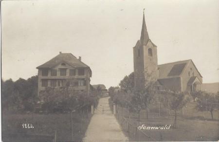 Sennwald Foto A. Hane, Rorschach, Nr. 1260 _RU