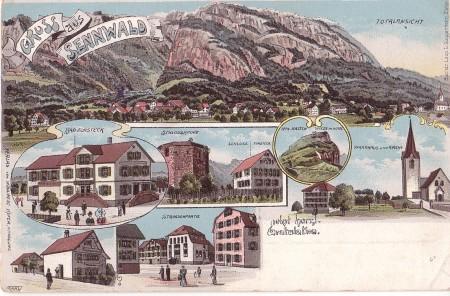 Sennwald Foto Buchd. Leop. D. Guggenheim, Zürich, No. 6682, Verlag von Wohlwend Küfer, Handlung _RU
