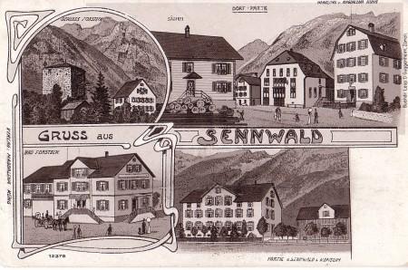 Sennwald Foto Buchdr. Leop. D. Guggenheim, Zürich, Verlag Magdalena Küng, Nr. 12378 _RU