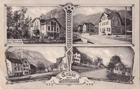 Sennwald Foto Chr. Tischhauser, Buchs, No. 1045 _RU