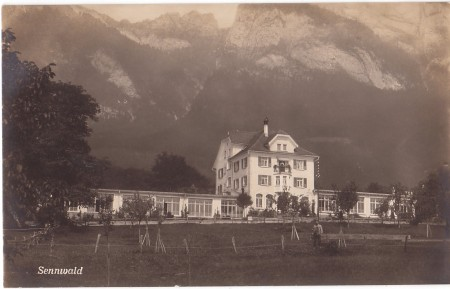 Sennwald Foto Nr. 1 J. Thurnheer, Kartenzentrale, Berneck _RU