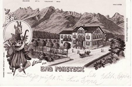Sennwald Foto Verlag J. Leuthold, Bad Forsteck, Nr. 12379, Buchdr. Leop. D. Guggenheim, Zürich _RU