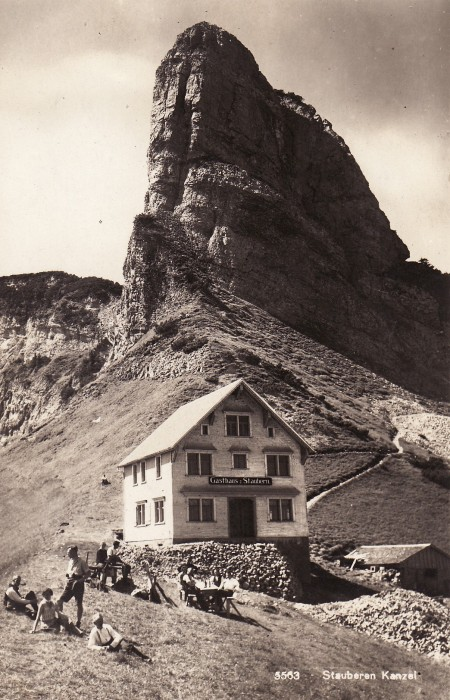 Staubern Foto Postkarten Verlag Max Burkhardt, Arbon, Nr. 5563 _RU